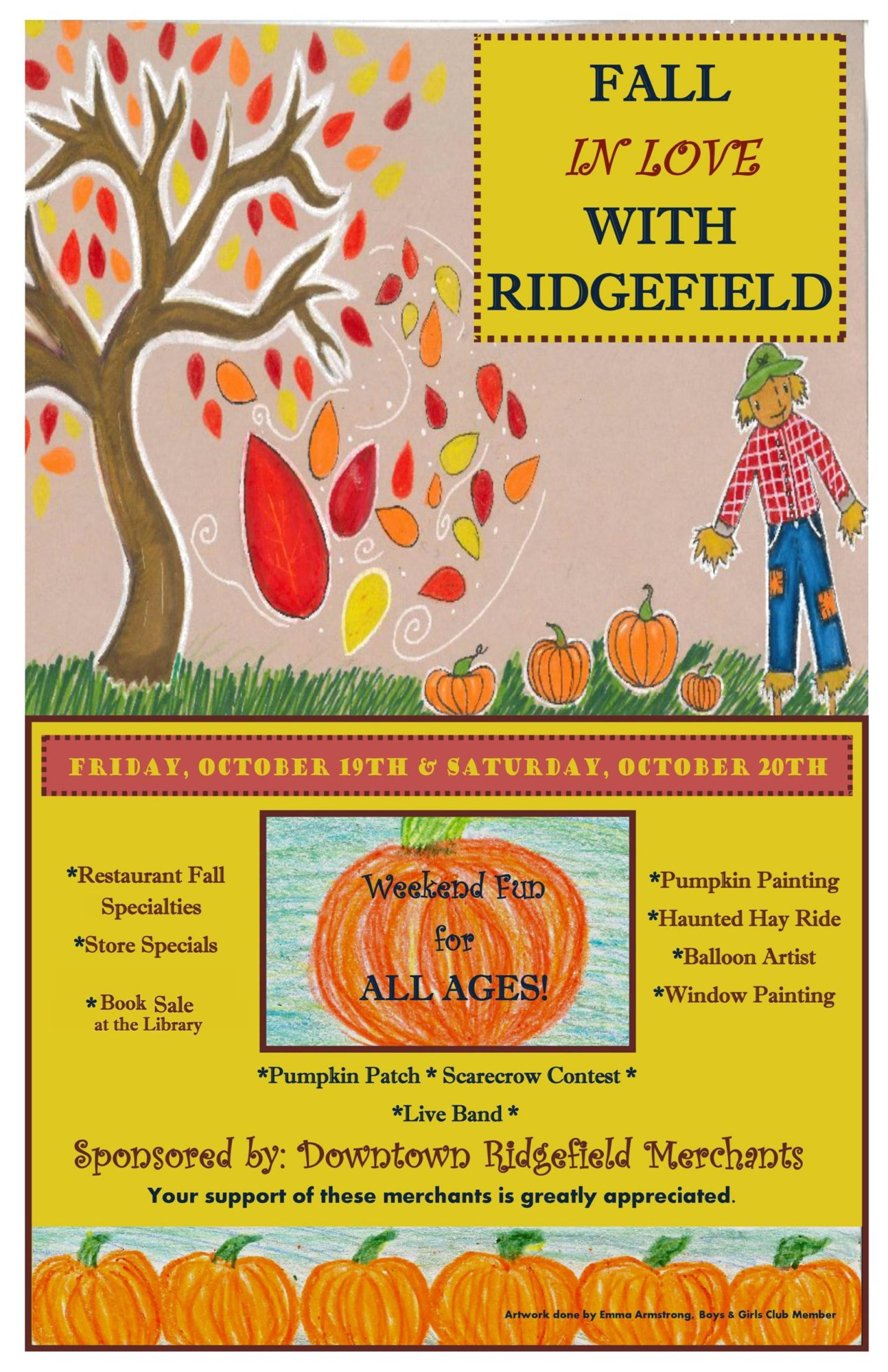 Fall in love with ridgefield 2018